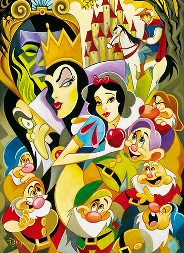 "Snow White ""Collage"""