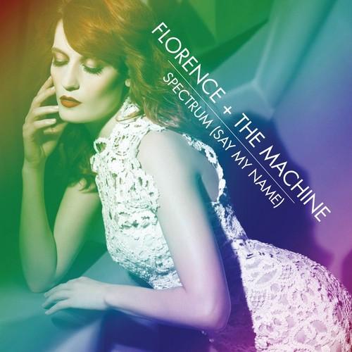 Florence + The Machine karatasi la kupamba ukuta with a chajio, chakula cha jioni dress and a portrait called Spectrum
