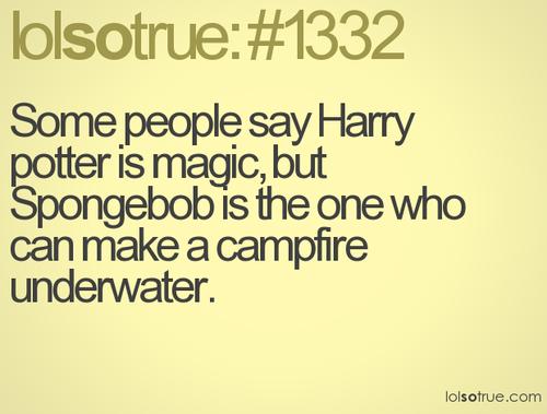 Sponebob is magic