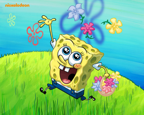 Spongebob Squarepants wallpaper containing anime titled Spongebob