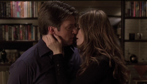 Nathan Fillion & Stana Katic wallpaper containing a bookshop, a library, and a bookcase titled Stanathan *-*