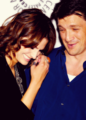 Stanathan *-* - nathan-fillion-and-stana-katic photo