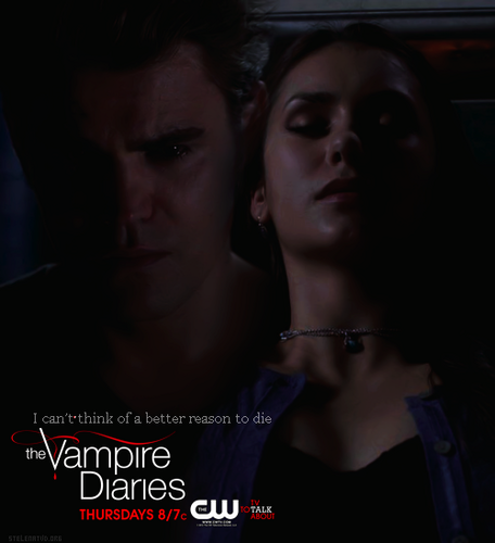 Stefan & Elena wallpaper with a portrait entitled Stelena, season 4
