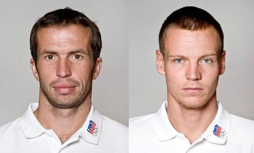 Stepanek and Berdych Olympics 2012 - tennis Photo