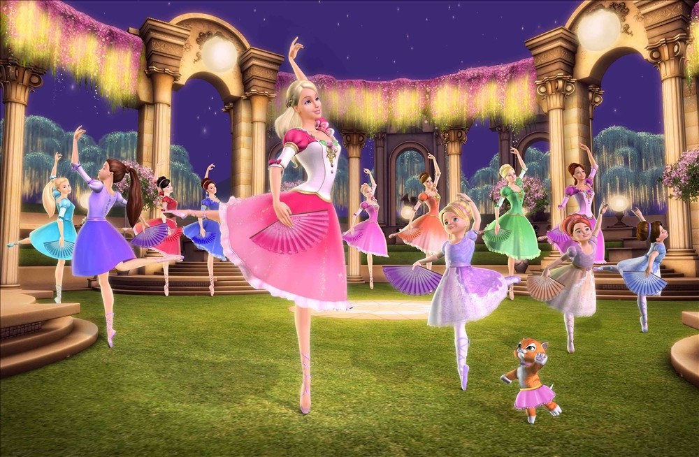 Barbie in the 12 Dancing Princesses Stills time!