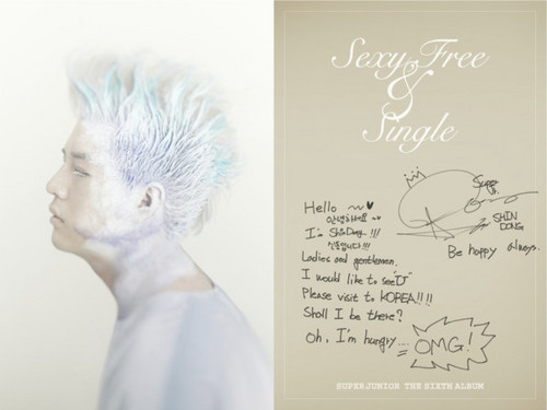 "Super Junior Sexy, Free & Single"" Booklet - super-junior Photo"
