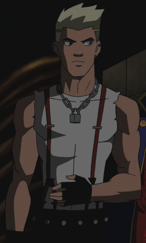 in young justice wallpaper probably containing anime titled Superboy --Tommy Terror