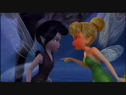 tinkerbell SHOWS VIDIA WHO'S BOSS!!!