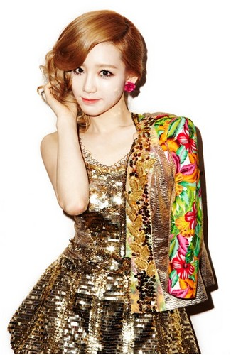 SNSD wallpaper titled TaeYeon Official Photos Of Twinkle Mini Album