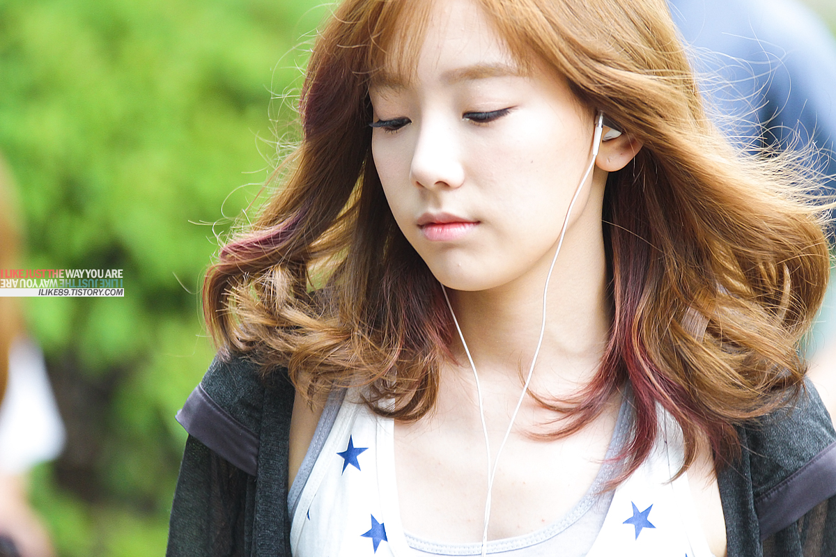 Taeyeon @ musique Bank