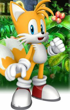 Tails in Sonic the hedgehog4 episode 2