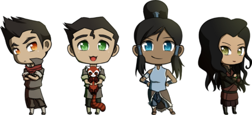 Team Avatar Chibis