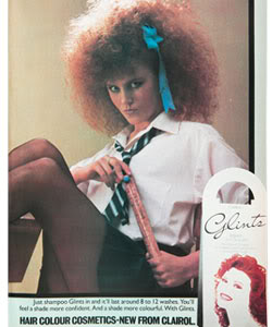 Teenage Nicole in Glints advert