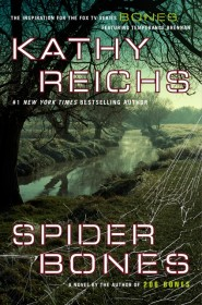 Temperance Brennan series - 13. araña bones por Kathy Reichs