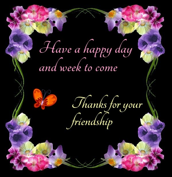 Image result for thanks for your Friendship