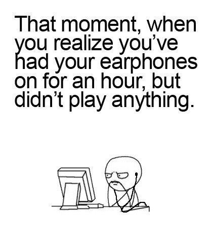That moment,when...