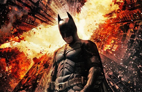 Batman wallpaper with anime called The Dark Knight Rises