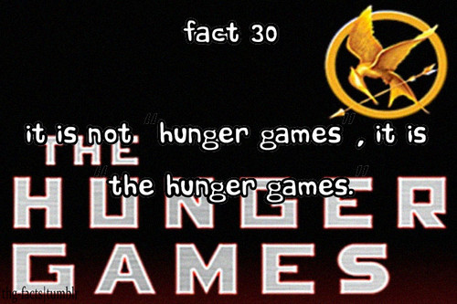 The Hunger Games wallpaper probably with a sign entitled The Hunger Games facts 21-40