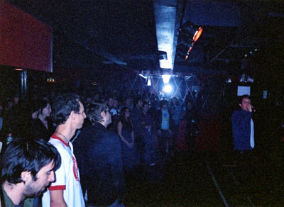 The Killers live at the Blow Up Metro Club, Londres September 18, 2003