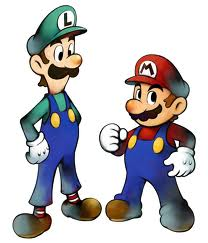 Luigi wallpaper possibly containing anime called The Plumbers