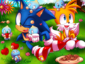 The joy of friendship - sonic-the-hedgehog fan art