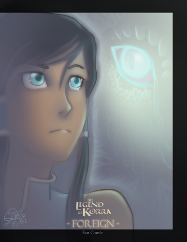 The legend of Korra [Foreign Cover]