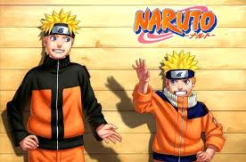 The new and old Naruto