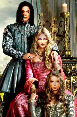 This picture is gorgeous.King,Queen and princess <3