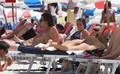 Thong Bikini On Miami Beach [4 July 2012]
