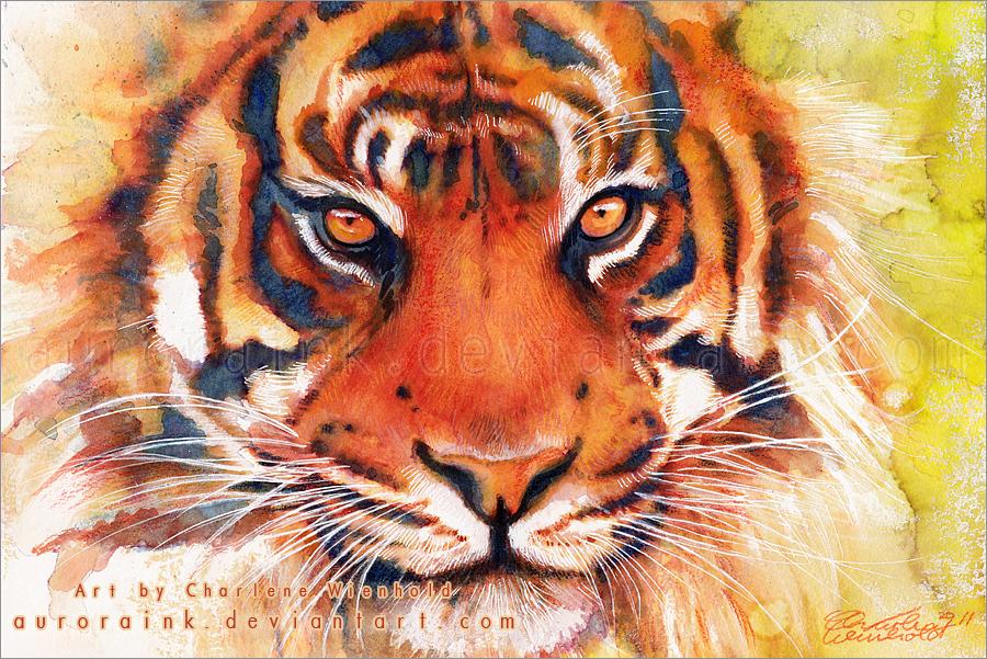 Tiger Pop Art Tiger Tigers Fan Art