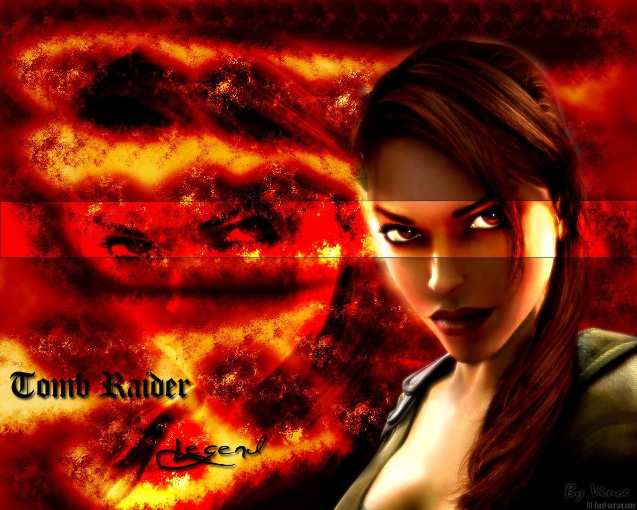 Tomb Raider Legend Fondo De Pantalla Lara Croft Fondo De