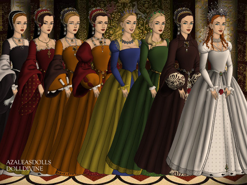 Tudor History wallpaper entitled Tudor Queens