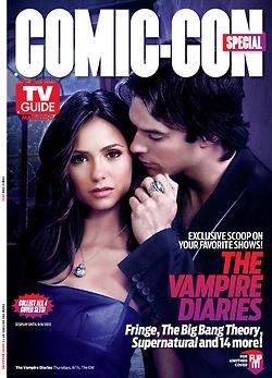 Tv Guides 2012 comic con special - Delena cover