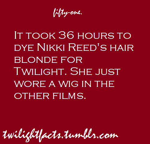 Twilight facts 41-60