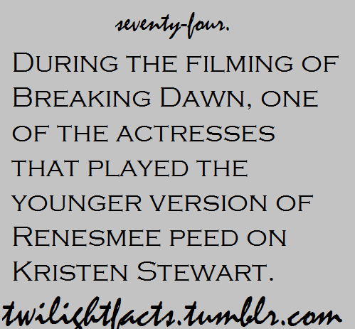 Twilight facts 61-80