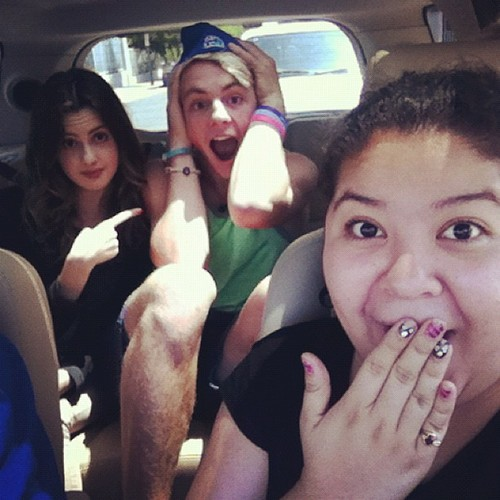 """Tweets;Chick Fil A! Chick Fil A! """"@Raini_Rodriguez: We are super excited for Chick Fil A today!"""