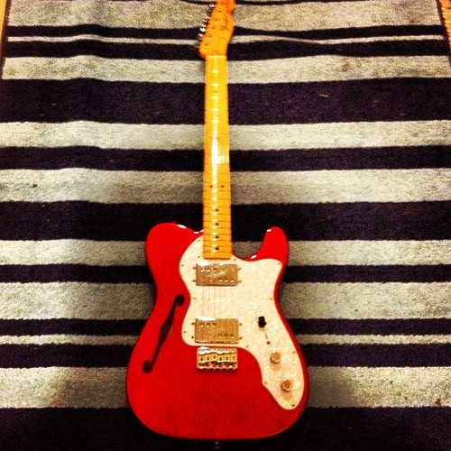Tweets;And a new telecaster!