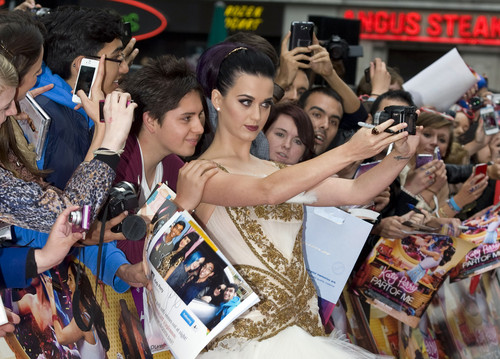 UK Premiere Of 'Katy Perry: Part of Me' [3 June 2012]