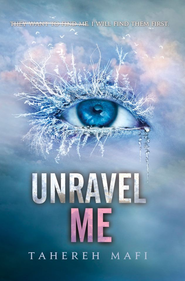 Unravel Me book cover - shatter-me-series Photo