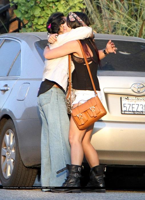Vanessa - Leaving her accueil - June 15, 2012