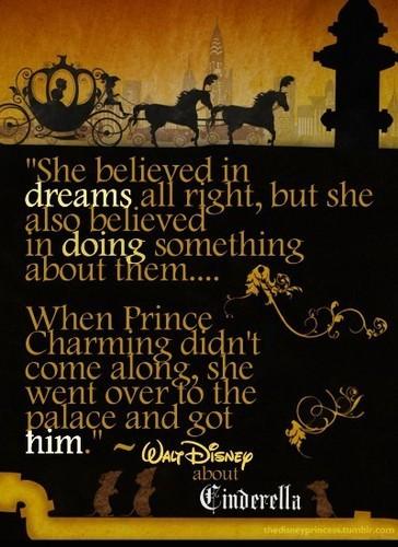 Walt Disney on Cinderella