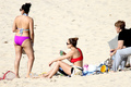 Wearing A Bikini At A strand In Brazil [30 June 2012]