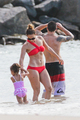 Wearing A Bikini At A pantai In Brazil [30 June 2012]