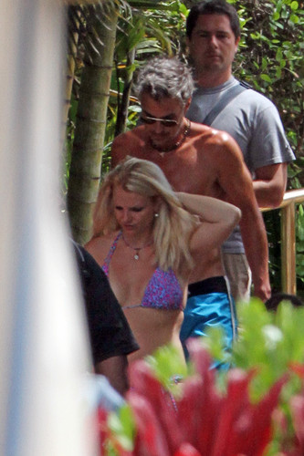 Wearing A Bikini In Hawaii [5 July 2012]