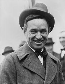 "William Penn Adair ""Will"" Rogers (November 4, 1879 – August 15, 1935)"