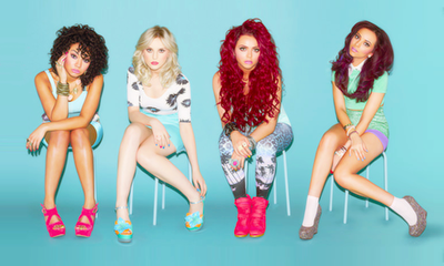 little mix wallpaper probably containing a swimsuit, a bustier, and tights entitled Wings♥