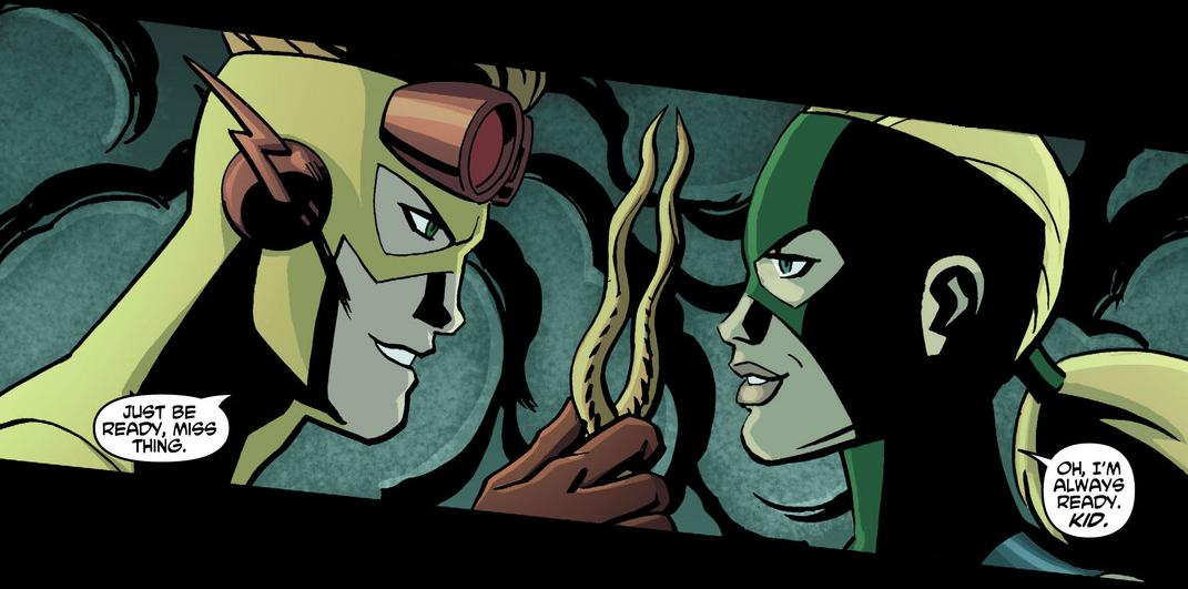 Young Justice 17 Spitfire