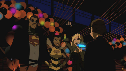 Young-Justice halloween party