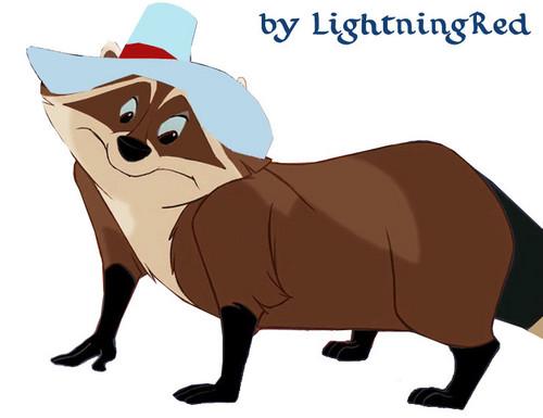 Yule the Brown Raccoon