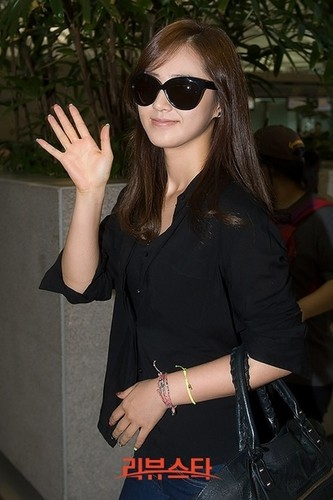 Yuri @ Incheon Airport